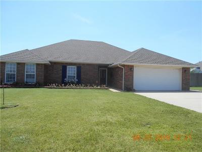 Altus Single Family Home For Sale: 1736 White Tail Drive