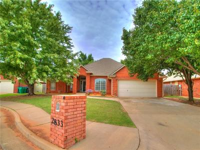 Edmond Single Family Home For Sale: 2833 NW 158 Street