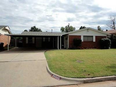 Oklahoma City OK Single Family Home For Sale: $90,000