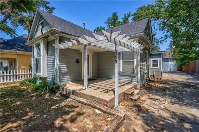 Oklahoma City Single Family Home For Sale: 1509 NW 21st Street