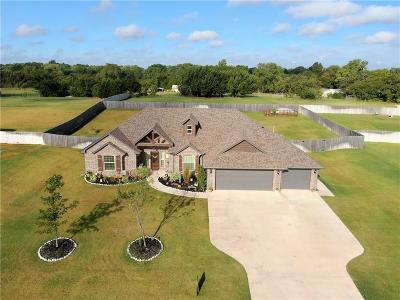 Blanchard OK Single Family Home For Sale: $320,000