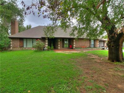 Mustang Single Family Home For Sale: 7301 S Cimarron Road