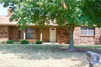 Weatherford Single Family Home For Sale: 1601 Saber Lane