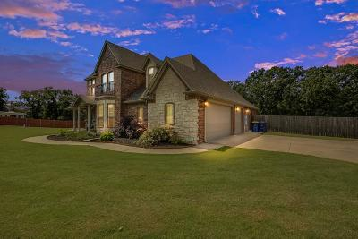 Choctaw Single Family Home For Sale: 233 S Triple X Road