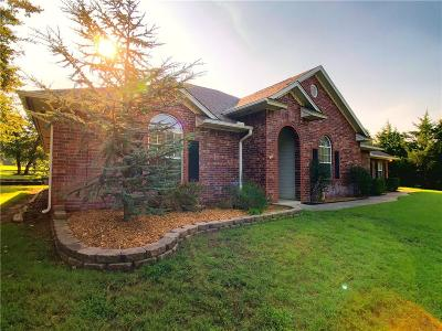 Blanchard OK Single Family Home For Sale: $265,320