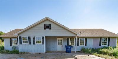 Chickasha Single Family Home For Sale: 482 County Road 1399