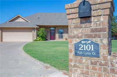 Blanchard OK Single Family Home For Sale: $235,000