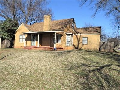 Chickasha Single Family Home For Sale: 927 S 13th Street