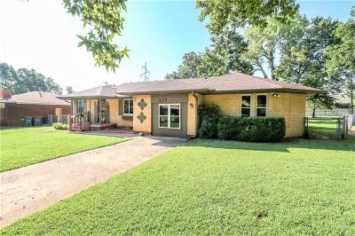 Del City Single Family Home For Sale: 225 Burk Drive