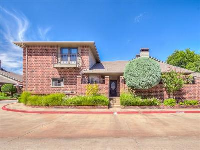 Oklahoma City Condo/Townhouse For Sale: 6206 Waterford Boulevard #60