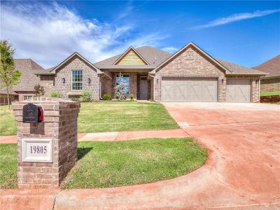 Single Family Home For Sale: 19805 Stratmore Way