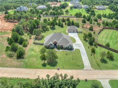 Arcadia Single Family Home For Sale: 8425 Persimmon Hill Road