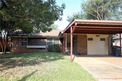 Del City Single Family Home For Sale: 2417 Knox Drive