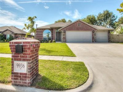 Yukon Single Family Home For Sale: 9936 Glascow Terrace