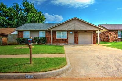 Mustang Single Family Home For Sale: 722 W Perry Drive