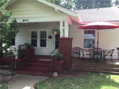 Chickasha Single Family Home For Sale: 601 S 12th Street
