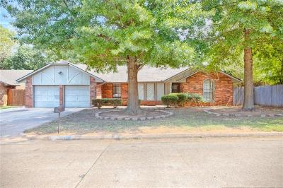 Midwest City Single Family Home For Sale: 1804 Albert Drive
