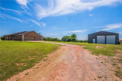 Blanchard OK Single Family Home For Sale: $279,000