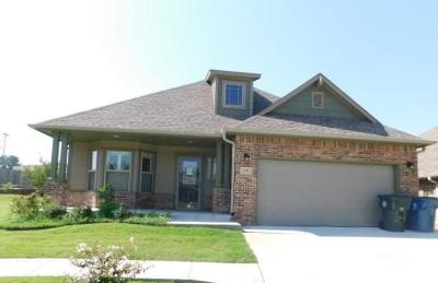 Midwest City Single Family Home For Sale: 731 Glenhaven Villas Court