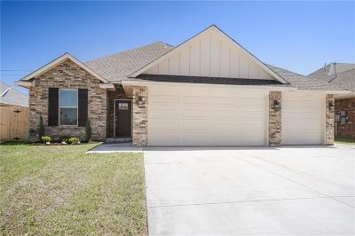 Mustang Single Family Home For Sale: 1358 N Taylor Way