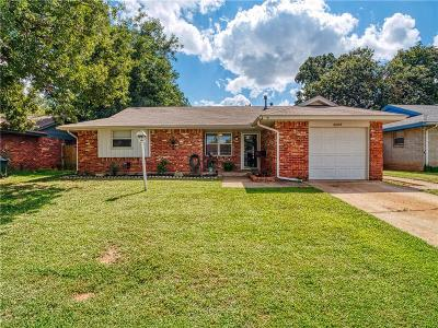 Del City Single Family Home For Sale: 3328 Lazy Lane