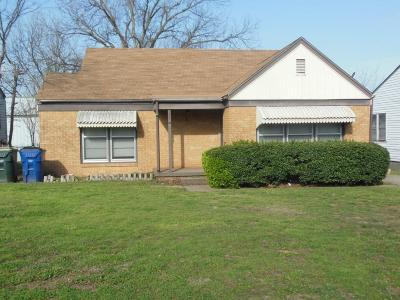 Chickasha Single Family Home For Sale: 1506 S 14th Street