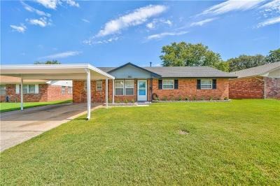 Midwest City Single Family Home For Sale: 912 Lotus Avenue