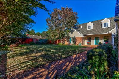 Edmond Single Family Home For Sale: 6204 Oak Tree Road