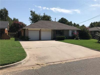 Moore Single Family Home For Sale: 232 S Irving Drive