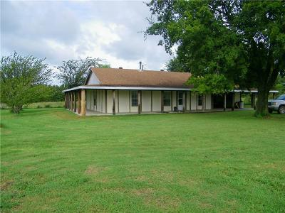Stroud Single Family Home For Sale: 358077 E 920 Road