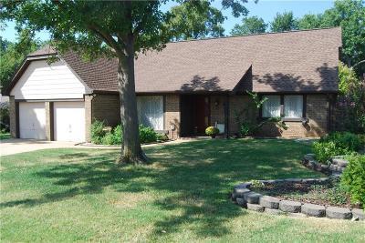 Oklahoma City Single Family Home For Sale: 5913 Tiffany Circle