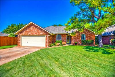 Edmond Single Family Home For Sale: 1709 Timberview Drive
