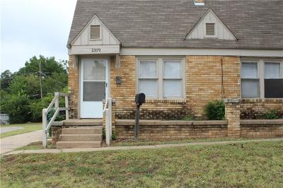 Oklahoma City Rental For Rent: 2339 NW 10th Street