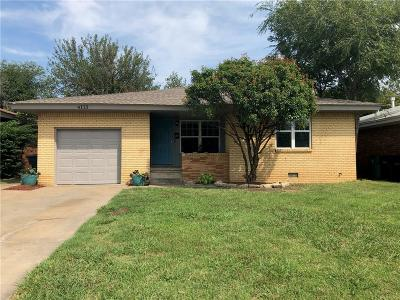 Oklahoma City Single Family Home For Sale: 4113 NW 30th Street
