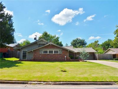 Oklahoma City Single Family Home For Sale: 3930 NW 58th Terrace