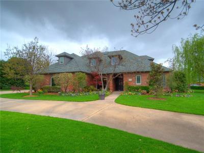 Yukon Single Family Home For Sale: 4100 Lake Drive