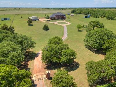 Guthrie Single Family Home For Sale: 5159 S Santa Fe Road