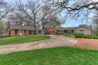 Oklahoma City OK Single Family Home For Sale: $1,350,000