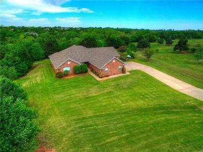 Mustang Single Family Home For Sale: 10201 Fawn Valley Drive