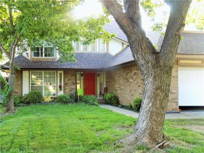 Moore Single Family Home For Sale: 1119 Leafhurst Road