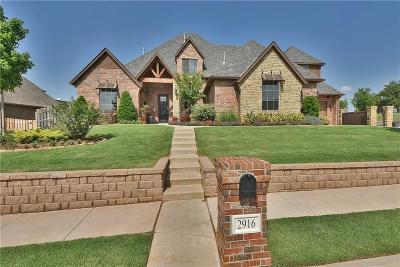 Edmond Single Family Home For Sale: 2916 Lakeshire Ridge Way