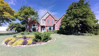 Guthrie Single Family Home For Sale: 7171 E Harvey Road