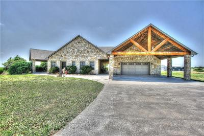 Blanchard Single Family Home For Sale: 2150 W State Highway 62
