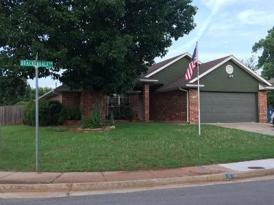 Edmond Single Family Home For Sale: 308 Brackendale