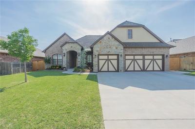 Moore Single Family Home Pending: 3808 S Sendera Lakes Drive