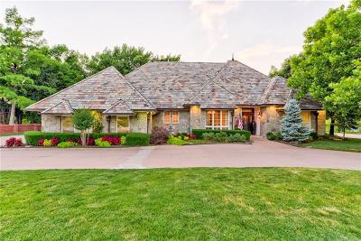 Edmond Single Family Home For Sale: 5721 Country Club Terrace