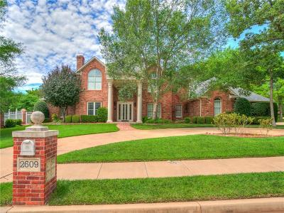 Edmond Single Family Home For Sale: 2609 Kensington Terrace