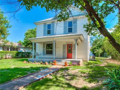 Guthrie Single Family Home For Sale: 613 E Mansur Avenue