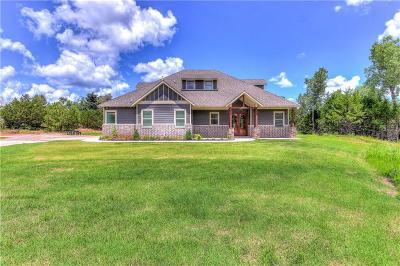 Edmond Single Family Home For Sale: 12931 R Road