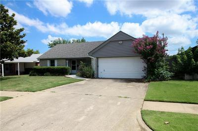Oklahoma City OK Single Family Home For Sale: $124,000